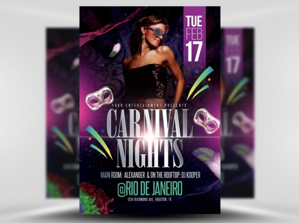 Carnival Nights Flyer Template