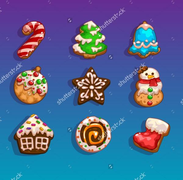 Cartoon Christmas Themes Icons