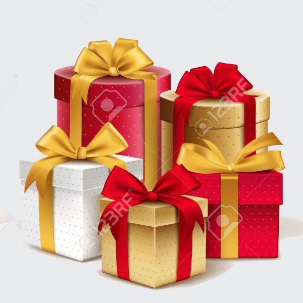 Celebration Gifts Vector Illustration
