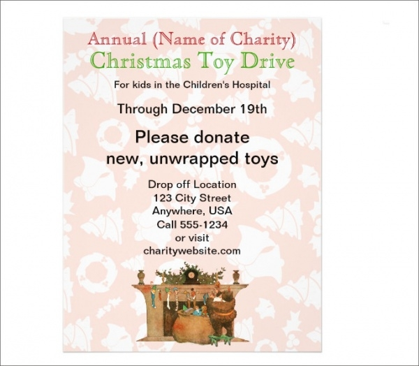 Charity Annual Christmas Toy Drive