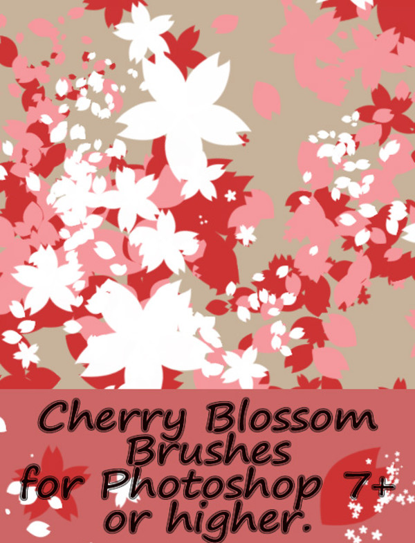 Cherry Blossom Petal brushes