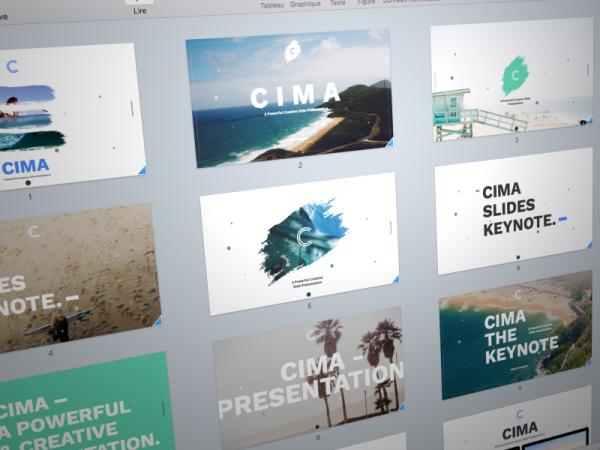 Cima Slides Market Presentation