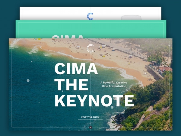Cima Slides Product Presentation