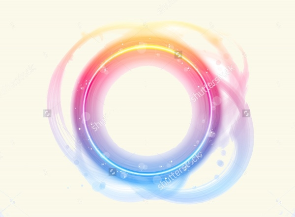 Circle Glow Brushes for Photoshop