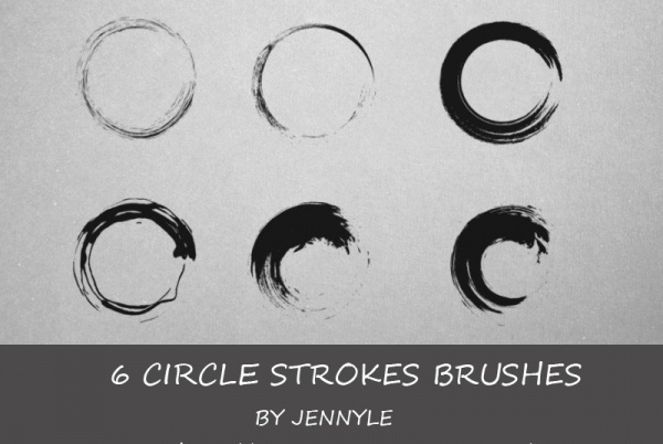 Circle Stroke Brushes