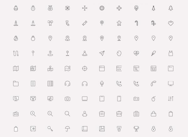 Classy Minimal UI Icons