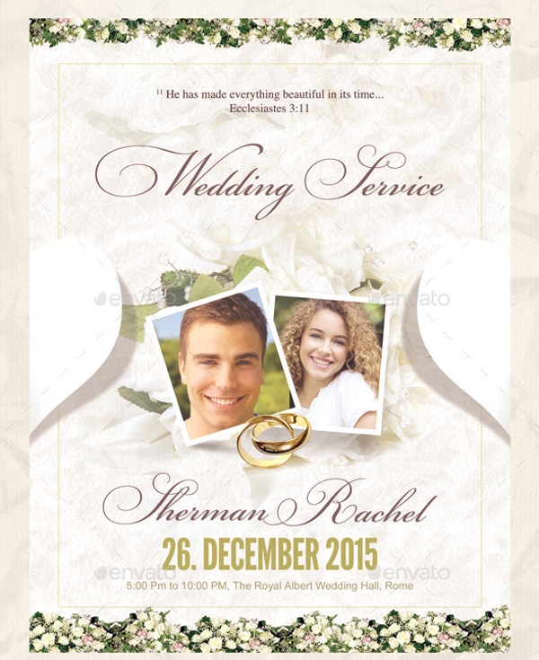 Classy Wedding Anniversary invitation