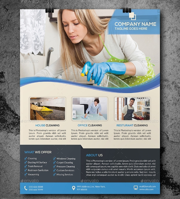 Cleaning Business Services Flyer