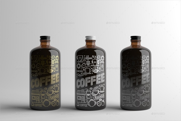 Coffee Bottle Packaging