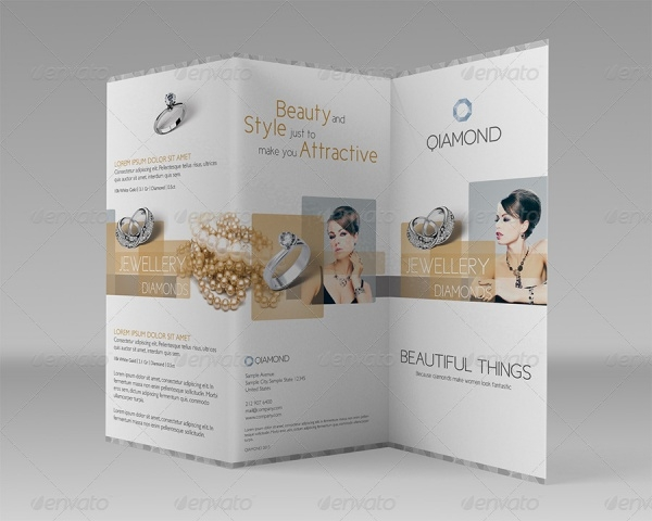 Commercial Tri-fold: Luxury Items Brochure