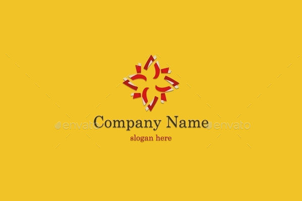 Company Abstract Illustration Logo