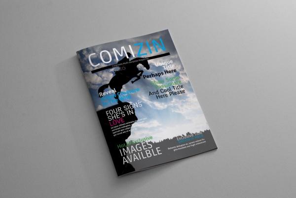 Company Corporate Magazine Ads