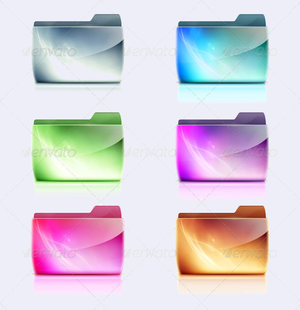 Computer Folder Cool Icons