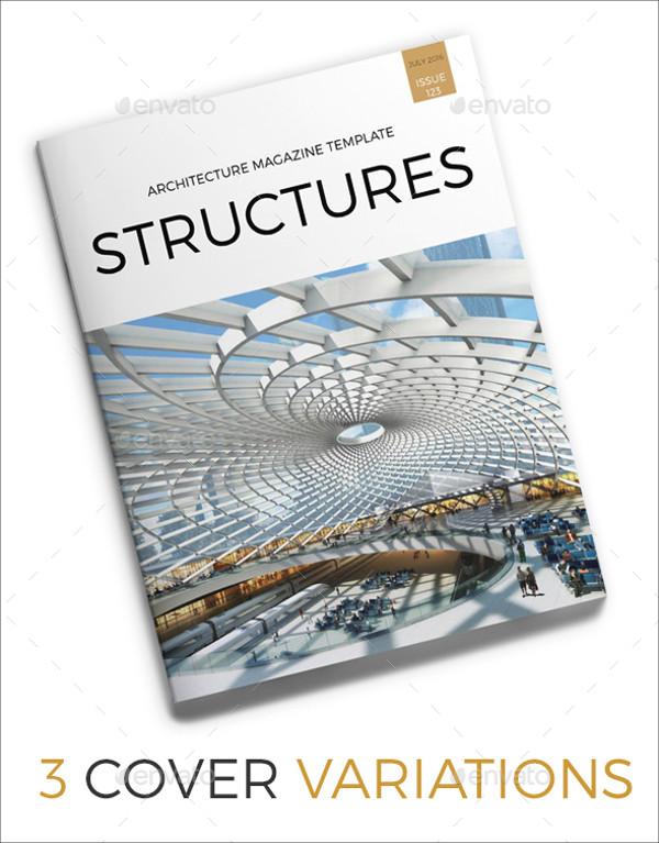 Conceptual Architecture MAgazine Layout