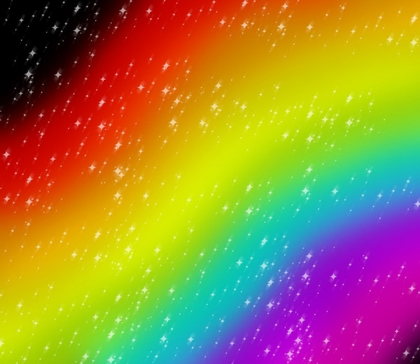 Cool Sparkling Rainbow Texture