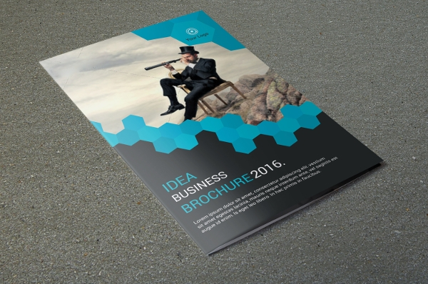 Corporate Brochure Advertising design