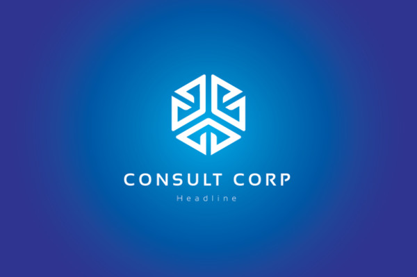 Corporate Consulting Logo Design