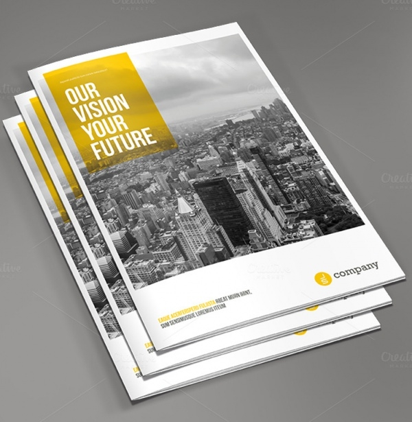 Corporate Financial Brochure Design