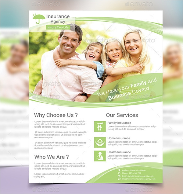 Corporate Insurance Flyer