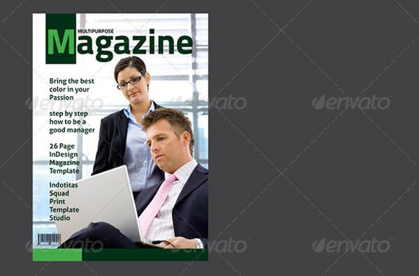 Corporate Magazine Template