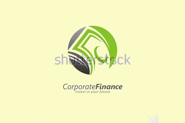 Corporate Negative Space Logo