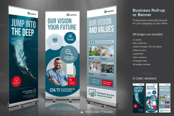 Corporate Promotional Banner Design