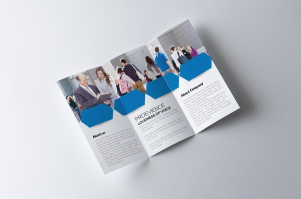 Corporate Training Brochure Design