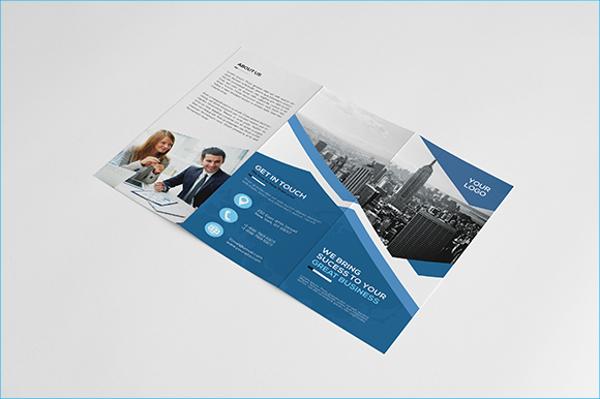 Corporate Tri-fold Service Brochure