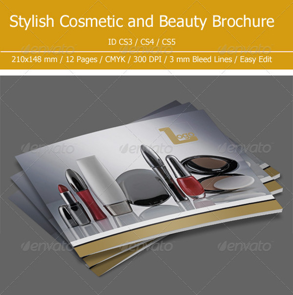 Cosmetic & Beauty Brochure