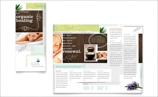 Cosmetic Day Spa Brochure