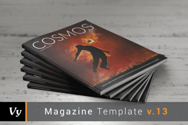Cosmos Sports Magazine Template