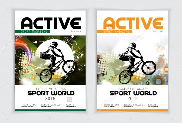 Cover Sport World Active Magazine