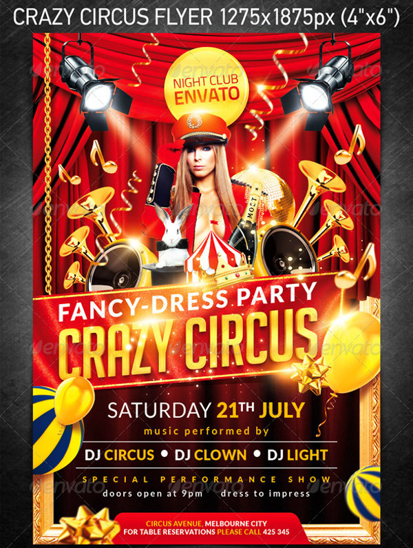 Crazy Circus Freedom Flyer