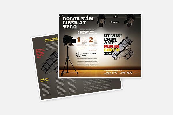 film brochure template - 21 studio brochure templates psd vector eps jpg