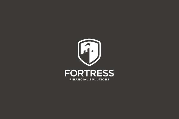 Creative Financial Secure Logo