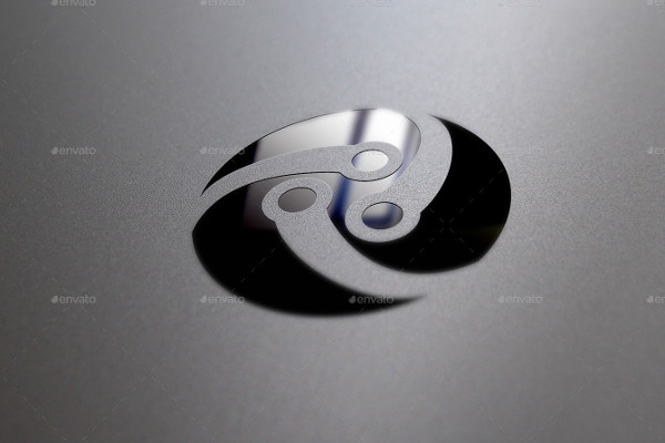 Creative Negative Space Logo