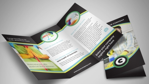 Service Brochure Templates PSD AI Vector EPS Format Download - Brochure template designs