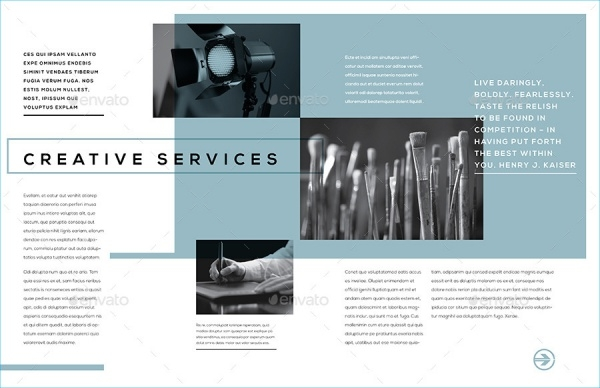 Creative Services Brochure