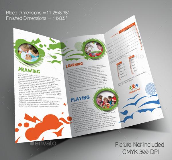Creative Summer Camp Brochure