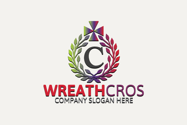 cross design logo for charity