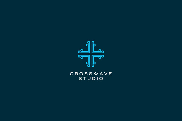cross wave foundation wave logo