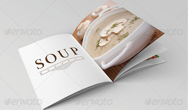 Customizable Food Restaurant Magazine
