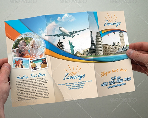 Customizable Travel Holiday Brochure