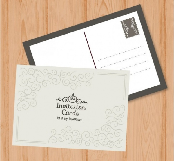 Cute Engagement Invitation Card
