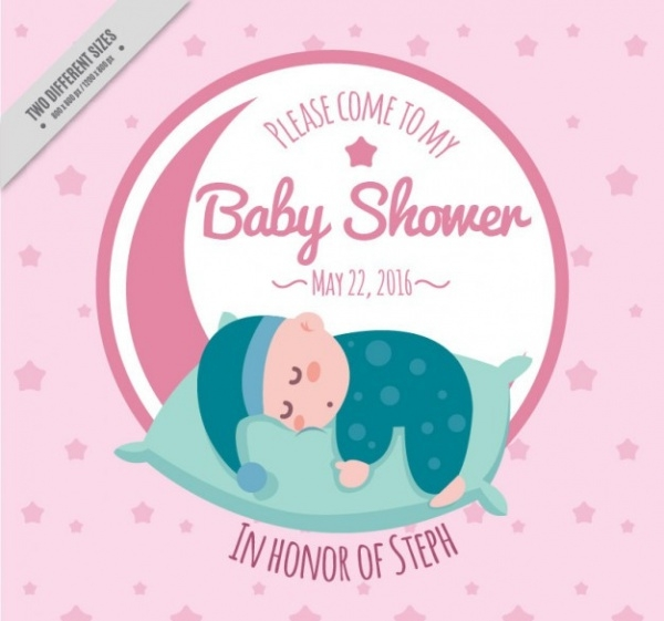 Cute & Lovely Baby Shower Invitation