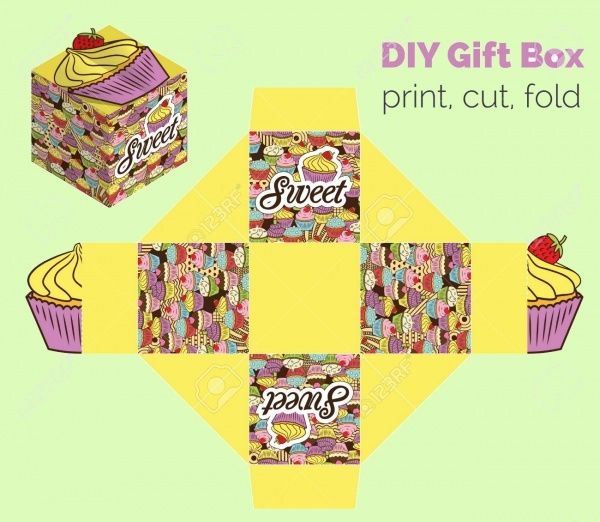 DIY Cupcake Packaging for Deserts
