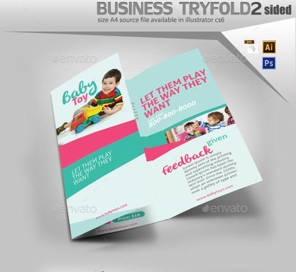Daycare Toys A5 Brochure