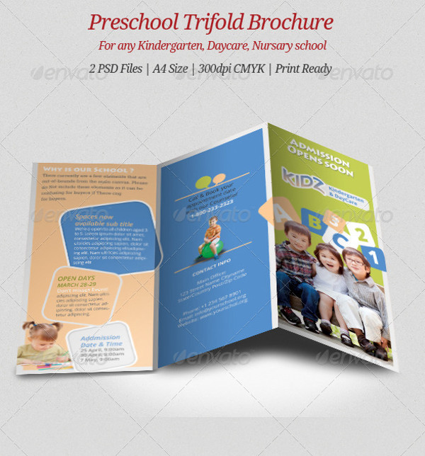 Daycare Tri Fold Brochure