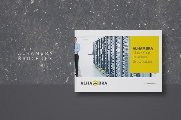 Design A4 Banking Brochure