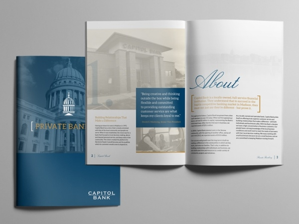 Design Banking Brochure Template